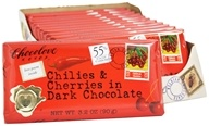 Chocolove - Dark Chocolate Bar Chilies & Cherries - 3.2 oz., from category: Health Foods