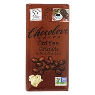 Chocolove - Dark Chocolate Bar Coffee Crunch - 3.2 oz. by Chocolove