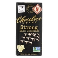 Chocolove - Strong Dark Chocolate Bar - 3.2 oz. by Chocolove