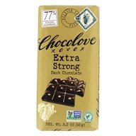 Chocolove - Dark Chocolate Bar Extra Strong Dark - 3.2 oz.