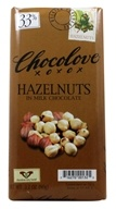 Chocolove - Milk Chocolate Bar Hazelnuts - 3.2 oz. by Chocolove