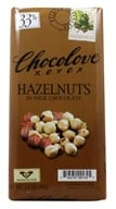 Chocolove - Milk Chocolate Bar Hazelnuts - 3.2 oz.