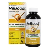 BHI/Heel - Reboost Cough Relief Syrup - 4.23 oz. Formerly Nectadyn Cough Syrup (787647704040)
