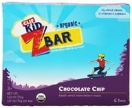 Image of Clif Bar - Kid Z-Bar Organic Chocolate Chip - 6 Bars