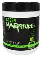 Controlled Labs - Green Magnitude Creatine Matrix Volumizer Sour Green Apple - 1.83 lbs.