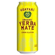 Guayaki - Organic Yerba Mate Lemon Elation - 15.5 oz.