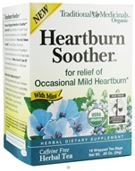 Traditional Medicinals - Heartburn Soother Tea with Mint - 16 Tea Bags CLEARANCE PRICED