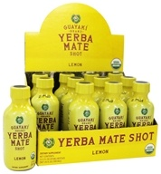 Image of Guayaki - Organic Energy Shot Lemon - 2 oz.