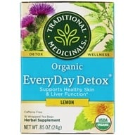 Traditional Medicinals - Lemon EveryDay Detox Tea - 16 Tea Bags, from category: Teas