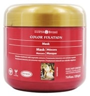 Surya Brasil - Henna Color Fixation Intensive Treatment Restorative Mask - 7.6 oz. by Surya Brasil