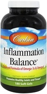 Carlson Labs - Inflammation Balance With Norwegian Fish Oil - 180 Softgels