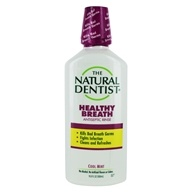 Natural Dentist - Natural Antiseptic Mouth Rinse Cool Mint - 16.9 oz. (714132000714)