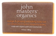 John Masters Organics - Bar Soap For Body Exfoliating Orange & Ginseng - 4.5 oz. by John Masters Organics