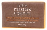 John Masters Organics - Bar Soap For Body Exfoliating Orange & Ginseng - 4.5 oz. (669558600249)
