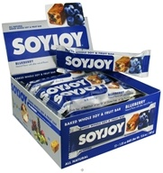 SoyJoy - All Natural Baked Whole Soy & Fruit Bar Blueberry - 1.05 oz. by SoyJoy