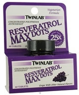 Twinlab - Resveratrol Max Dots - 60 Tablets, from category: Nutritional Supplements