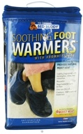 Bed Buddy - Aromatherapy Soothing Foot Warmers Navy - 1 Pair - $13.08