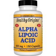 Healthy Origins - Alpha Lipoic Acid 600 mg. - 150 Capsules - $24.75