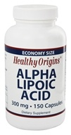 Healthy Origins - Alpha Lipoic Acid 300 mg. - 150 Capsules - $20.82