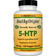 Healthy Origins - 5-HTP Hydroxytryptophan 100 mg. - 120 Capsules (603573350826)