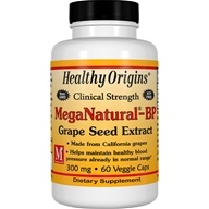 Healthy Origins - MegaNatural-BP Grape Seed Extract 300 mg. - 60 Capsules (603573579142)