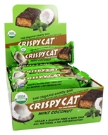 NuGo Nutrition - Crispy Cat Organic Candy Bar Mint Coconut - 1.76 oz. DAILY DEAL