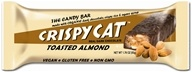 NuGo Nutrition - Crispy Cat Organic Candy Bar Toasted Almond - 1.76 oz.