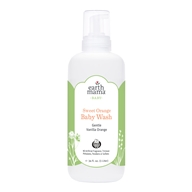 Earth Mama Angel Baby - Body Wash & Shampoo Natural Orange Vanilla - 34 oz.