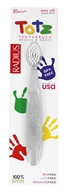 Radius - Totz Extra Soft Toothbrush for Ages 18 Months + Clear Sparkle