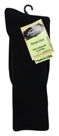 Image of Maggie's Organics - Socks Cotton Crew Size 10-13 Black - 1 Pair