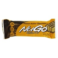 NuGo Nutrition - To Go Protein Bar Peanut Butter Chocolate - 1.76 oz., from category: Nutritional Bars