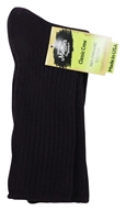 Image of Maggie's Organics - Socks Cotton Crew Size 9-11 Eggplant - 1 Pair
