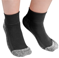 Image of Maggie's Organics - Socks Sport Size 9-11 Black - 1 Pair