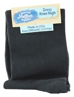 Image of Maggie's Organics - Socks Knee Hi Size 9-11 Black - 1 Pair