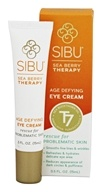 Sibu Beauty - Sea Buckthorn Age Defying Eye Cream - 0.5 oz.