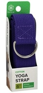 Gaiam - Cotton Yoga Strap Purple - 6 ft.