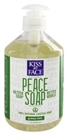 Kiss My Face - Peace Soap 100% Natural All Purpose Castile Soap Grassy Mint - 17 oz. - $5.84