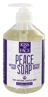 Kiss My Face - Peace Soap 100% Natural All Purpose Castile Soap Lavender Mandarin - 17 oz.