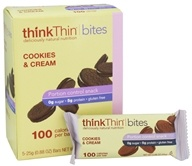 Think Products - thinkThin Bites Cookies and Cream - 5 Bars