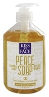 Kiss My Face - Peace Soap 100% Natural All Purpose Castile Soap Lemongrass Clary Sage - 17 oz. - $5.89