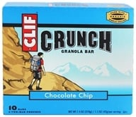 Clif Bar - Crunch Granola All Natural Chocolate Chip - 10 Bars by Clif Bar