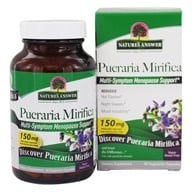 Nature's Answer - Pueraria Mirifica Estro Balance with Dim - 60 Vegetarian Capsules (083000261879)