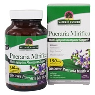 Nature's Answer - Pueraria Mirifica Estro Balance with Dim - 60 Vegetarian Capsules - $12.39