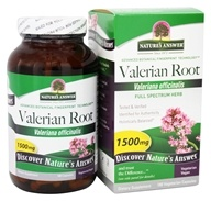 Nature's Answer - Organic Valerian Root - 180 Vegetarian Capsules - $9.43