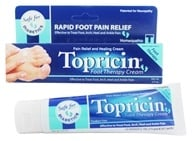 Topical BioMedics - Topricin Foot Therapy Cream - 2 oz. - $12.32