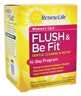 Image of ReNew Life - Brenda Watson's Vital Woman Flush & Be Fit 3 Part Kit Plus Probiotcs - 14 Pack(s)