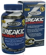 Muscletech Products - Creakic Hardcore Musclebuilding Creatine - 180 Caplets (631656602265)