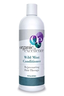 Organic Excellence - Revitalizing Hair Therapy Conditioner Wild Mint - 16 fl. oz.