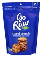 Go Raw - Sprouted Cookies Sweet Crunch - 3 oz. LUCKY PRICE