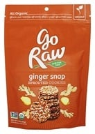 Go Raw - 100% Organic Ginger Snaps - 3 oz.
